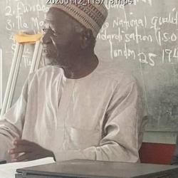 Alh. A. S. Gambe Chairman Adhoc/LOC TYD Centenary Celebration